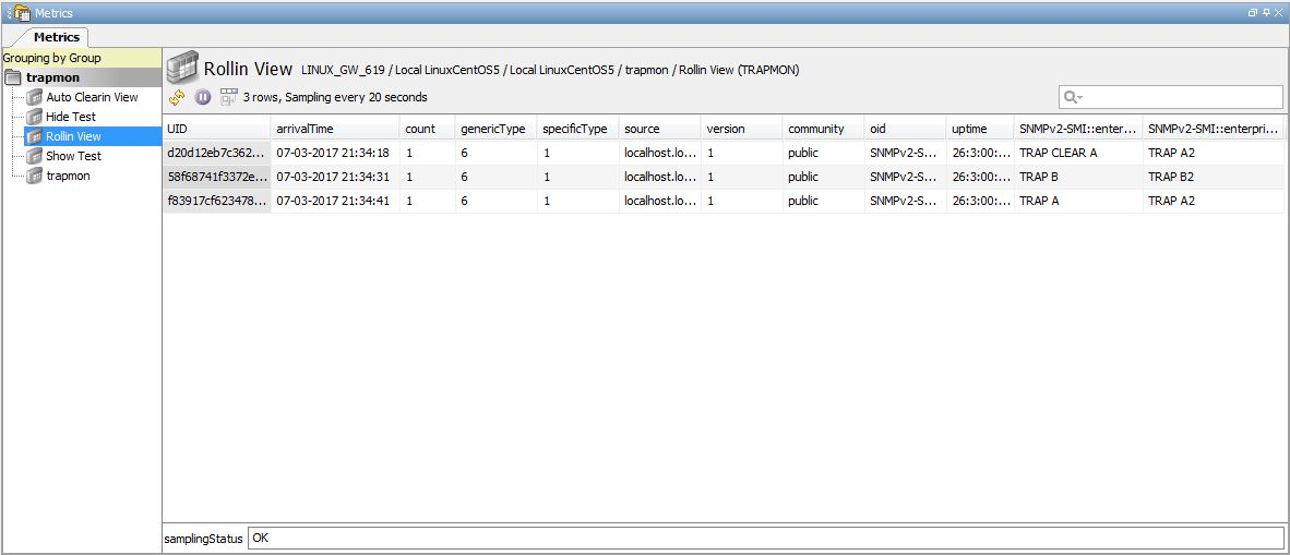 SNMP Trapmon Plug-in - Technical Reference